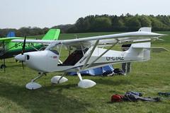 G-CIAZ Aeropro Eurofox (BMAA/HB/631) Popham 040514