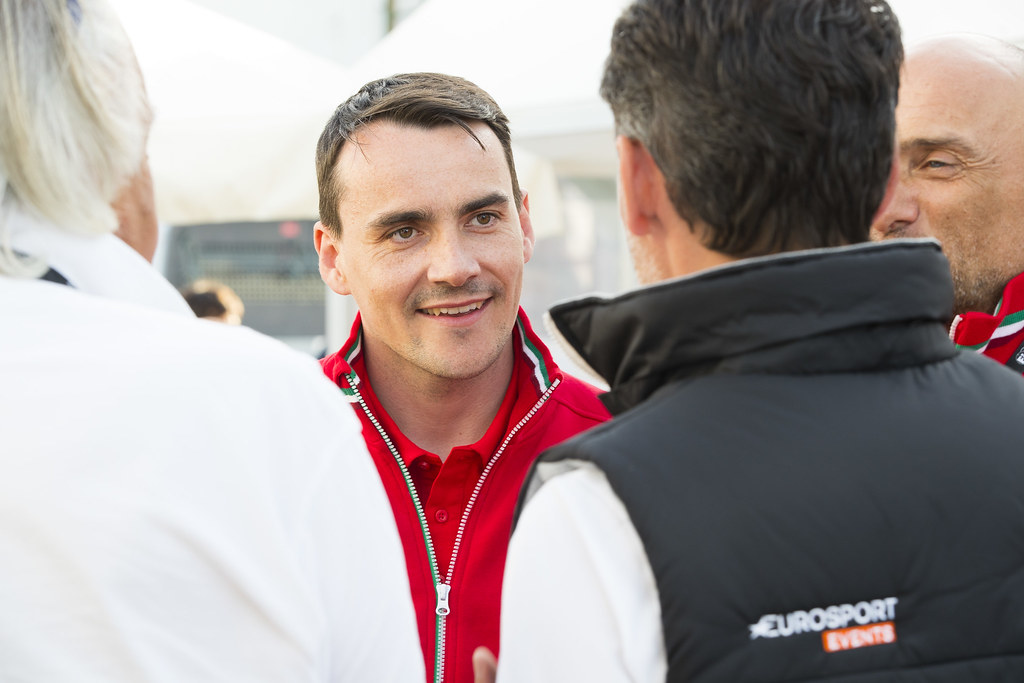 MICHELISZ Norbert (HUN), BRC Racing Team, Hyundai i30 N TCR, portraitHappy hour ambiance, during the 2018 FIA WTCR World Touring Car cup, Race of Hungary at hungaroring, Budapest from april 27 to 29 - Photo Gregory Lenormand / DPPI
