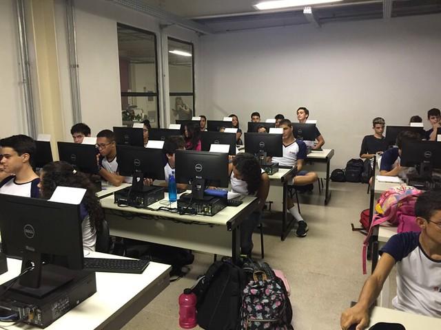 Atividade de Iniciação Científica - Colégio Izabela Hebdrix - 1º EM - 2018