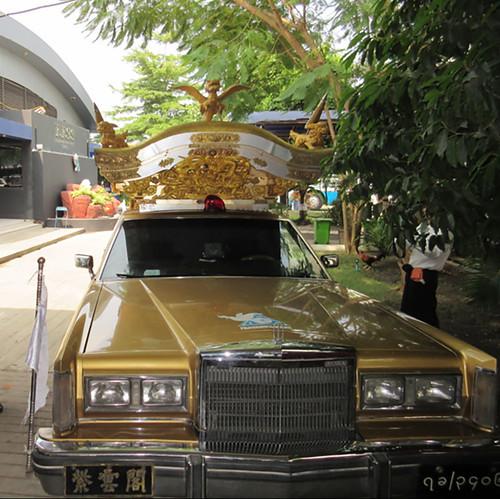 One of FFSS's elaborate hearse vehicles.