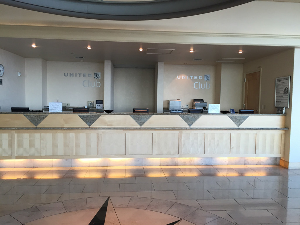 San Francisco United Business Class Lounge