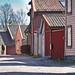 Smedjegaten, (Blacksmith's Street), The Old Town (Gamlebyen) - Fredrikstad.