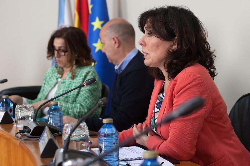Mar Pereira no Parlamento galego