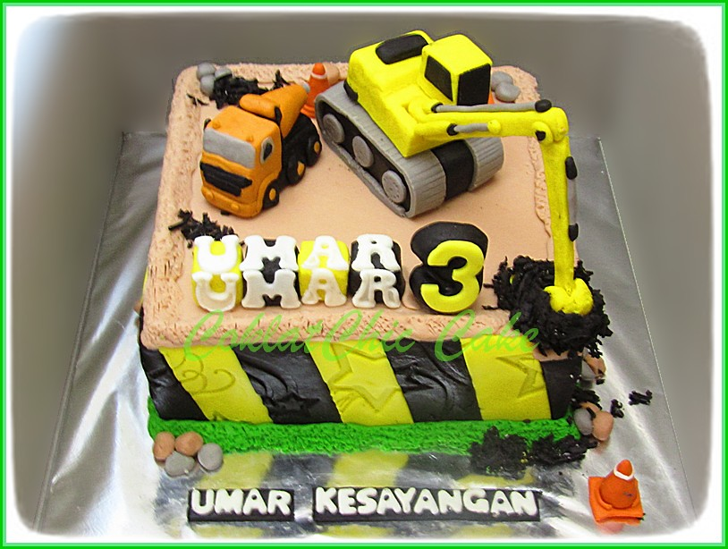 Cake Construction Site UMAR 15 cm
