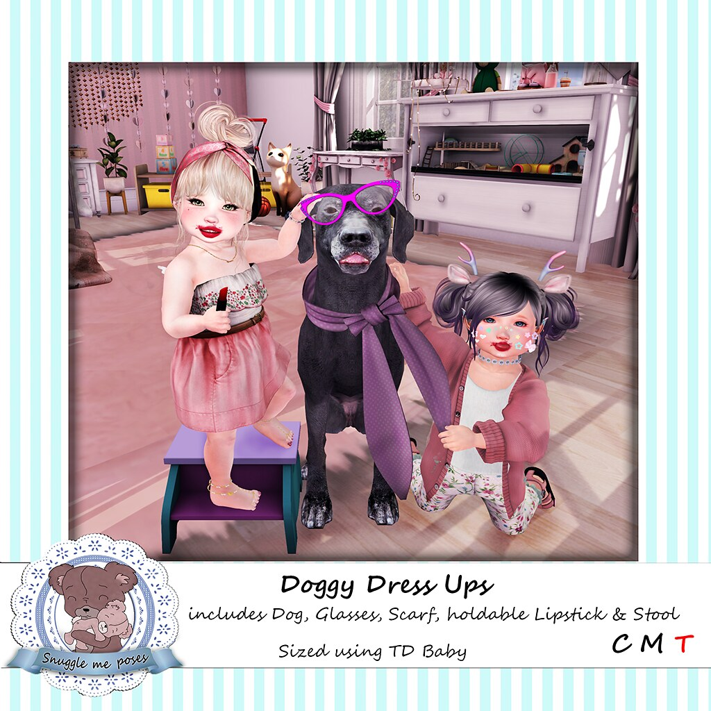 Snuggle Me Poses - Doggy Dress up - TeleportHub.com Live!