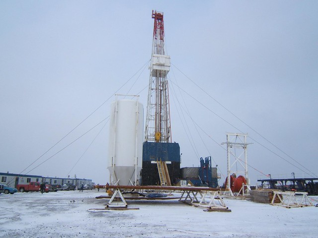 Drilling at Garden Hill