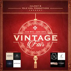 Vintage Fair 2018 – Participating Designers