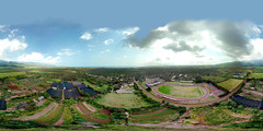 303 feet above Waialua from my DJI Mavic Pro - an aerial 360 Equirectangular VR