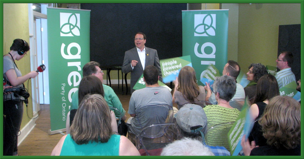 Mike Schreiner's Speech