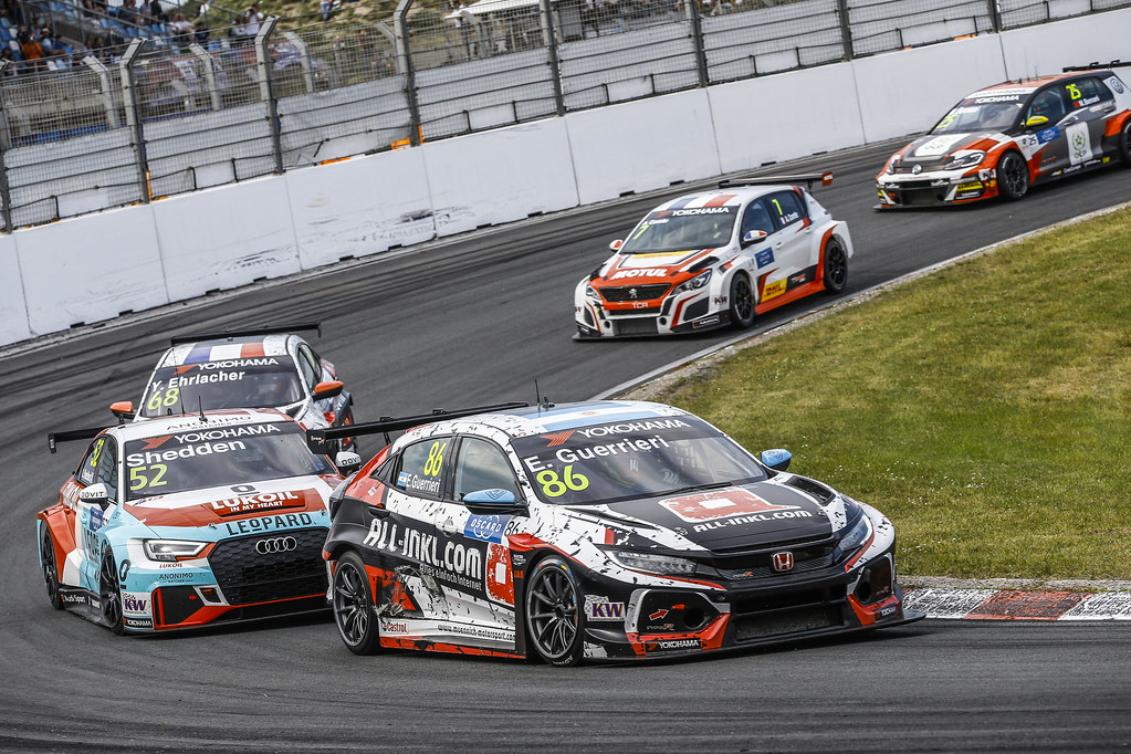 86 GUERRIERI Esteban, (arg), Honda Civic TCR team ALL-INKL.COM Munnich Motorsport, action during the 2018 FIA WTCR World Touring Car cup of Zandvoort, Netherlands from May 19 to 21 - Photo Jean Michel Le Meur / DPPI