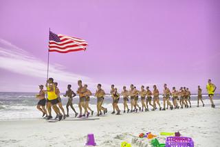 Military Beach Exercises