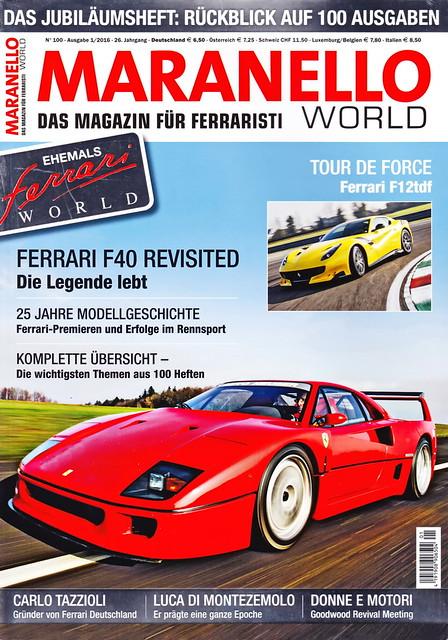 Maranello World 1/2016