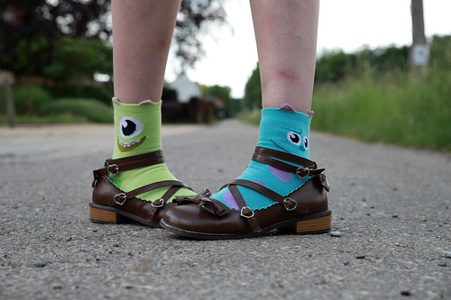 Shoes and socks :)