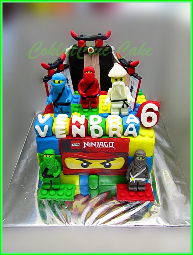 Cake Ninjago VENDRA 15 cm