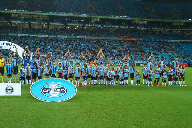 Grêmio x Santos 06/05/18 Brasileirão 2018