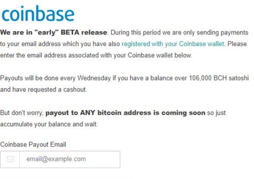 Configurar Coinbase en AirDrips