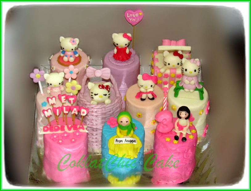 Minicake set Hello Kitty DEDE VEA