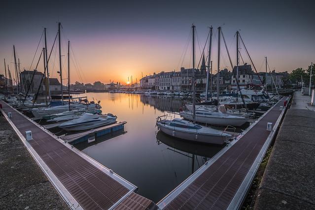 Sunrise in Honfleur