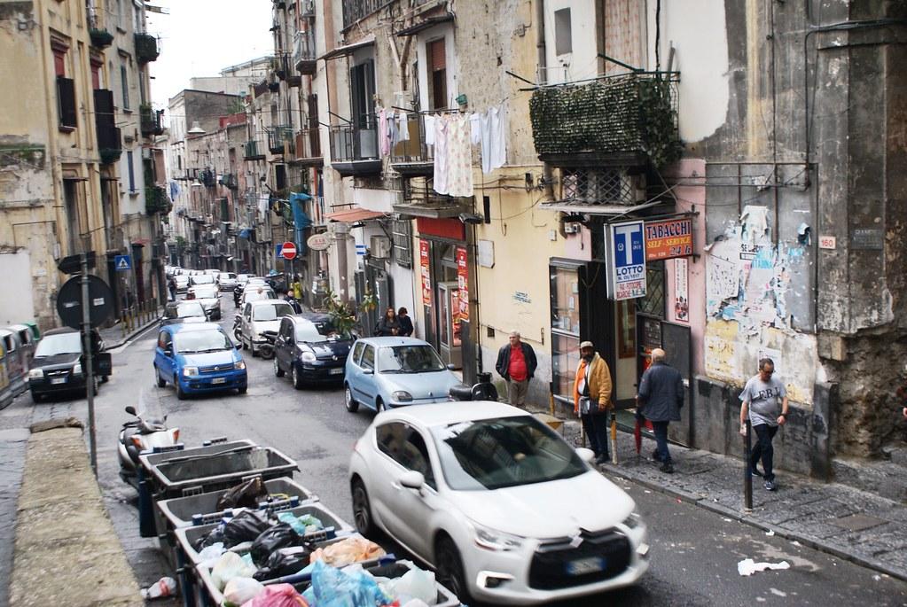 Dans le quartier de Sanita/Materdei à Naples.