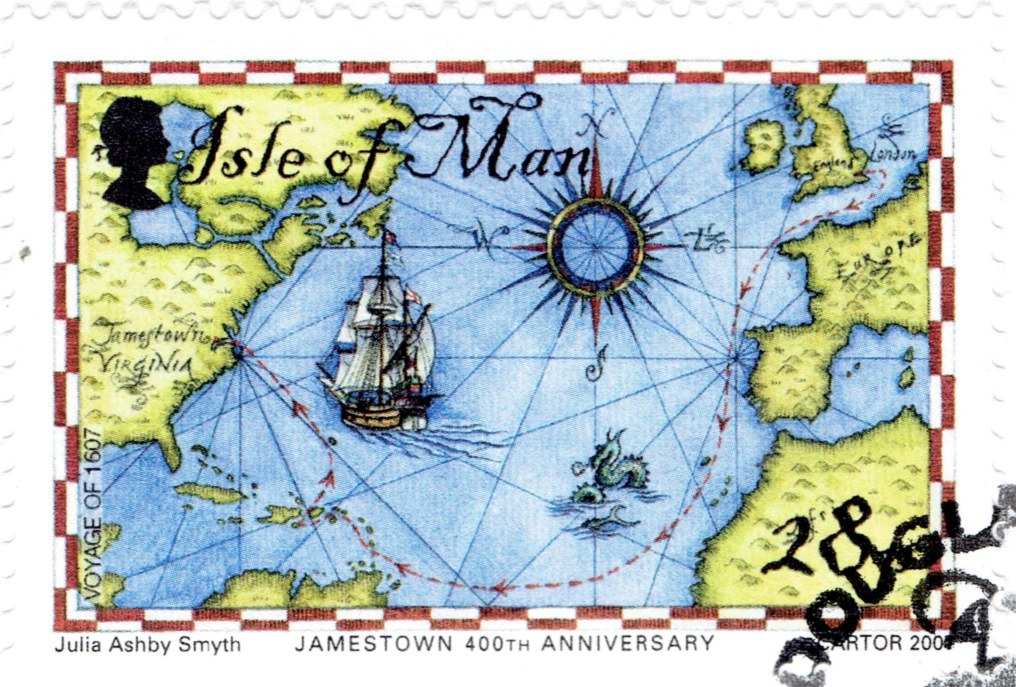 Isle of Man - Scott #1202 (2007)