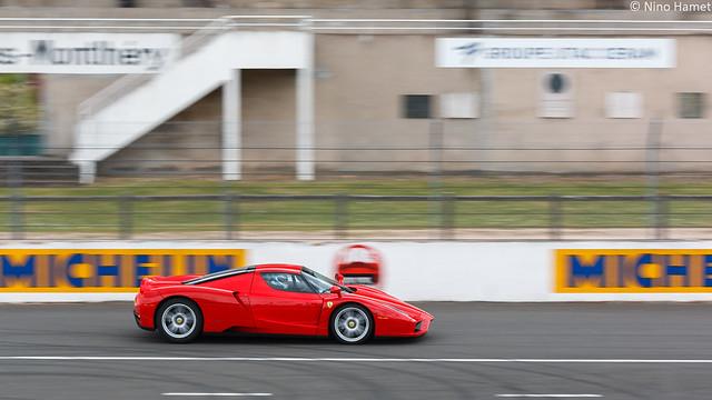Ferrari Enzo., Canon EOS 70D, Sigma 70-200mm f/2.8 EX DG APO OS HSM