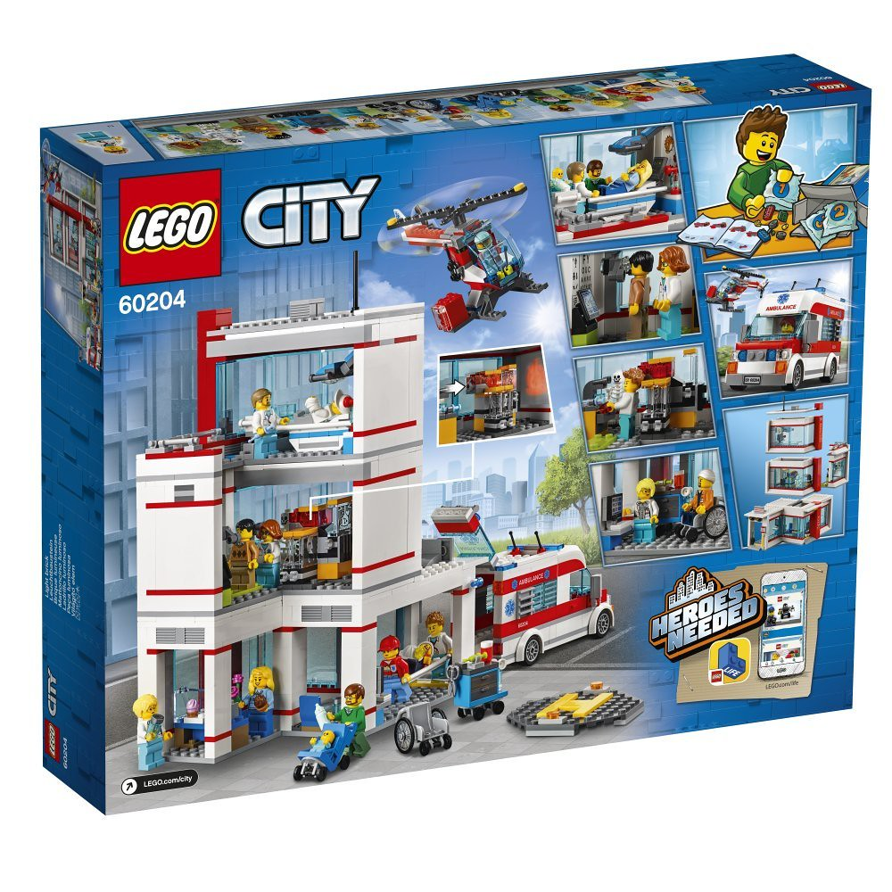 60204 Hospital Lego City