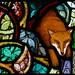All Saints' Great Chalfield, Andrew Taylor, Stained Glass by jacquemart