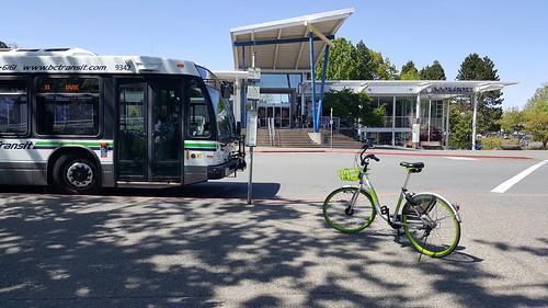 U-bike to UVic Bookstore