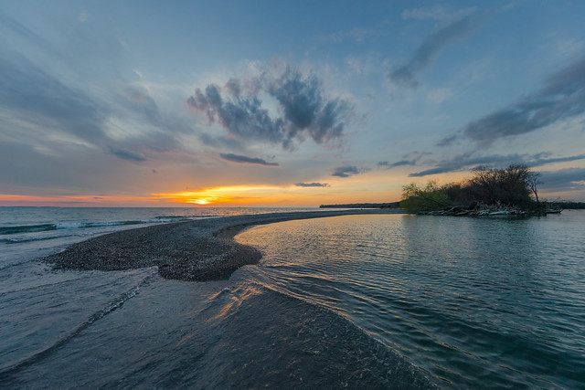 Sunset at Fish Point, Canon EOS-1D X MARK II, Canon EF 11-24mm f/4L USM