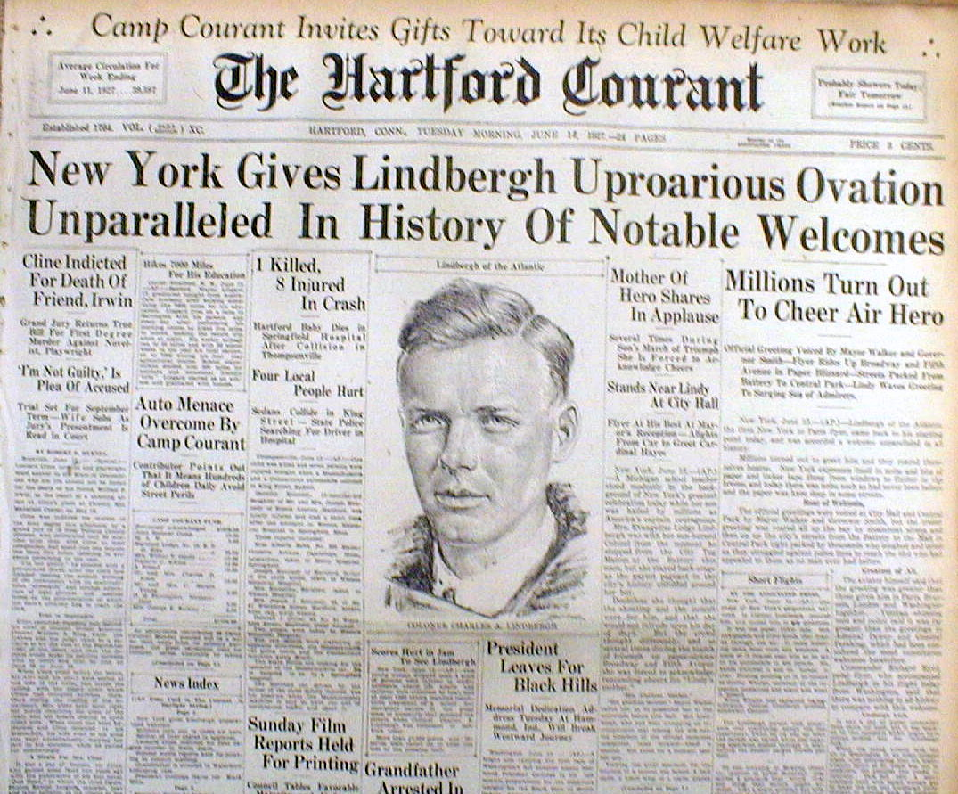 The Hartford Courant, June 14, 1927