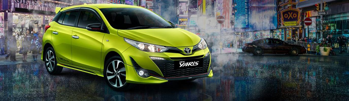 Mobil Toyota New Yaris 2018 di Jakarta