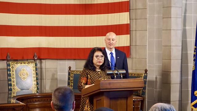 Gov. Ricketts Welcomes Indonesia's Consul General to Nebraska
