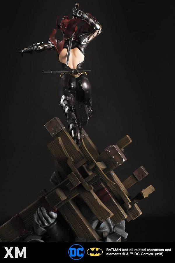令人陶醉的豐富變化性!! XM Studio Premium Collectibles DC Comics【蝙蝠女】Batgirl 1/4 比例全身雕像作品