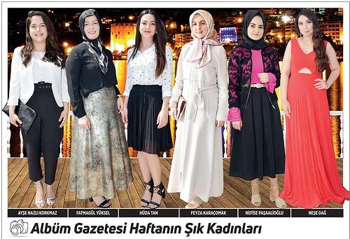 Ayşe Nazlı Korkmaz, Fatmagül Yüksel, Hüda Tan, Feyza Karaçomak, Nefise Paşaalioğlu, Neşe Dağ