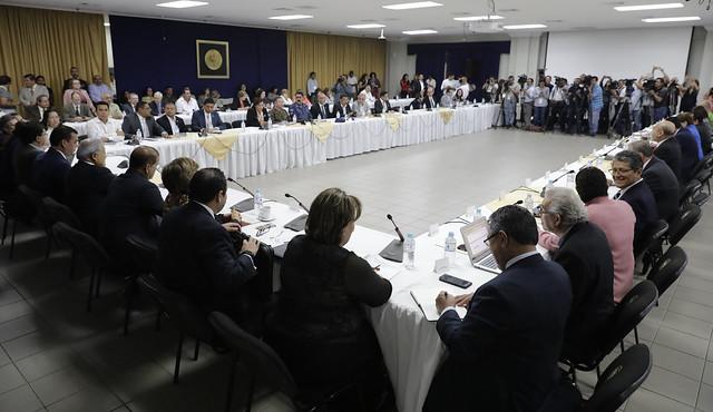 Consejo de Ministros ampliado.