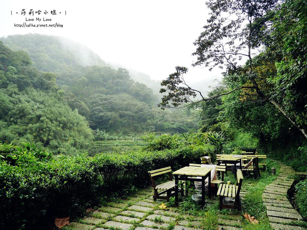 台北貓空景觀森林戶外餐廳推薦邀月茶坊 (1)