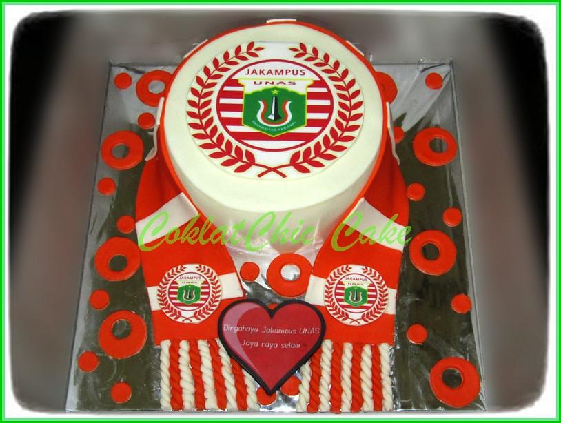 Cake JAKAMPUS UNAS 15 cm