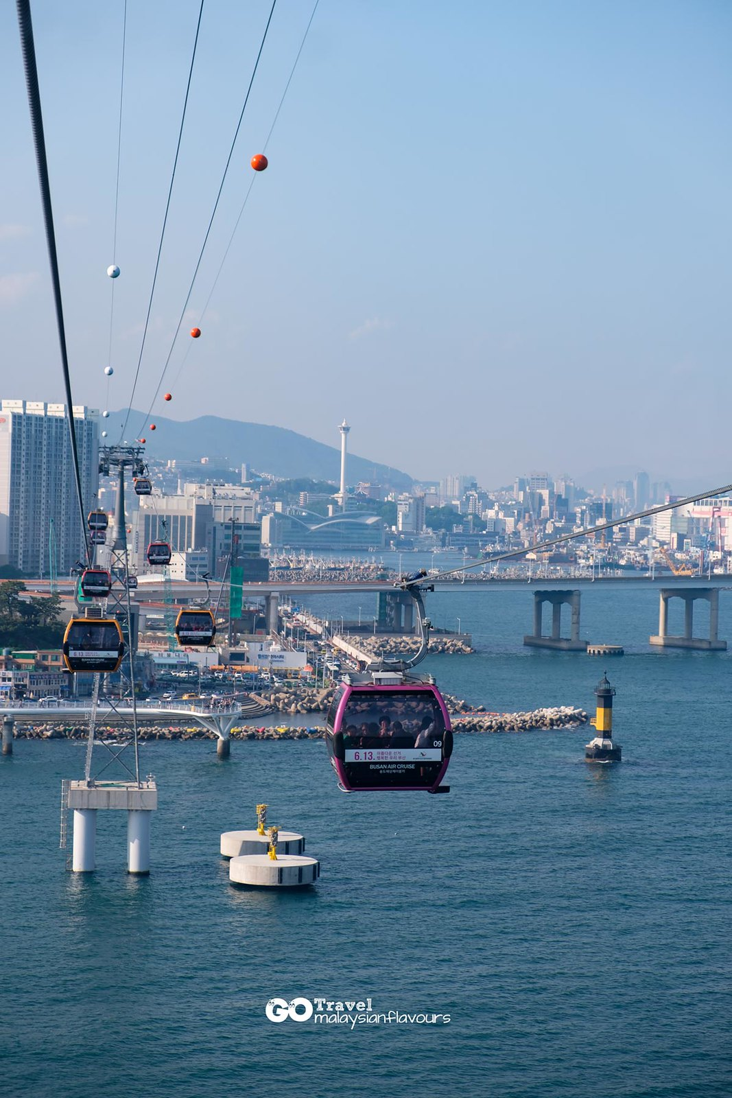 Busan Itinerary songdo cable car