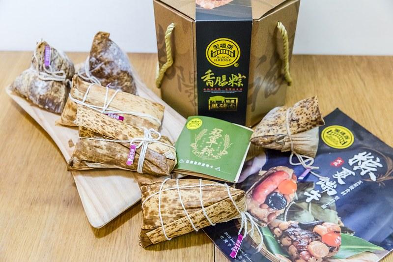 黑橋牌香腸粽(3)