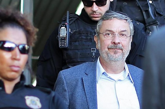 Ex-ministro Antônio Palocci está preso desde setembro de 2016 e já foi condenado a mais de 12 anos de prisão pelo juiz Sérgio Moro - Créditos: Foto: Agência Brasil