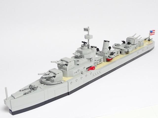 Porter-class US Navy Destroyer, Sony DSC-HX400V, Sony 24-210mm F2.8-6.3