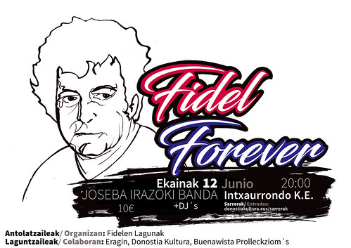 Fidel Forever jaialdiko irudia