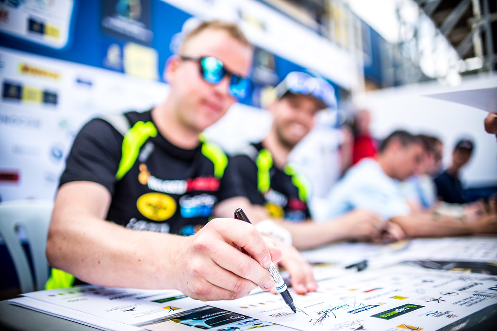 ERIKSEN Torstein , team Eyvind Brynildsen, Ford Fiesta R5, ambiance during the 2018 European Rally Championship ERC Rally Islas Canarias, El Corte Inglés,  from May 3 to 5, at Las Palmas, Spain - Photo Thomas Fenetre / DPPI