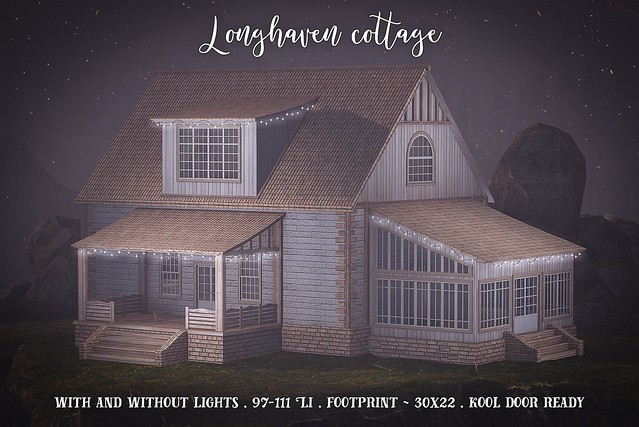 Longhaven cottage for Builder's Box May