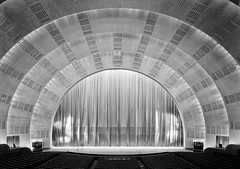 International Music Hall, Radio City, New York. House with curtain down, from main orchestra, December 7, 1932.