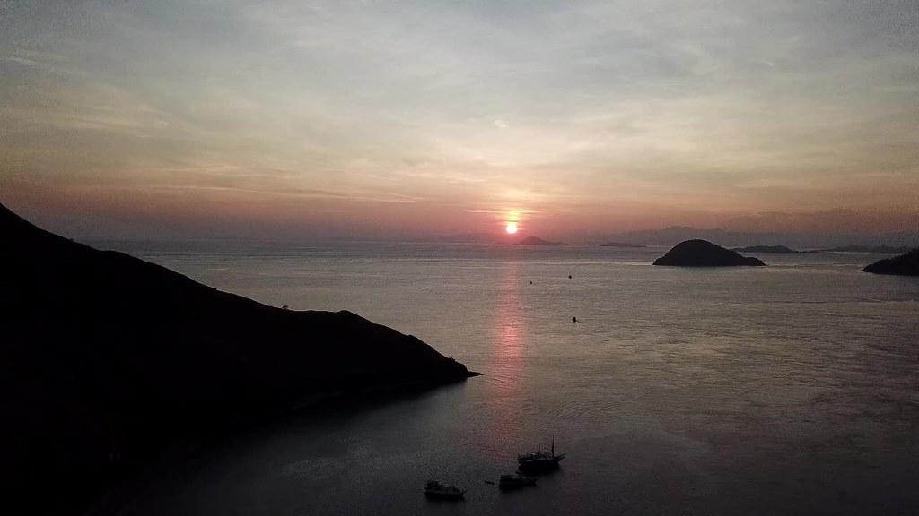 Sunrise at Gili Lawa Darat, Komodo, Flores
