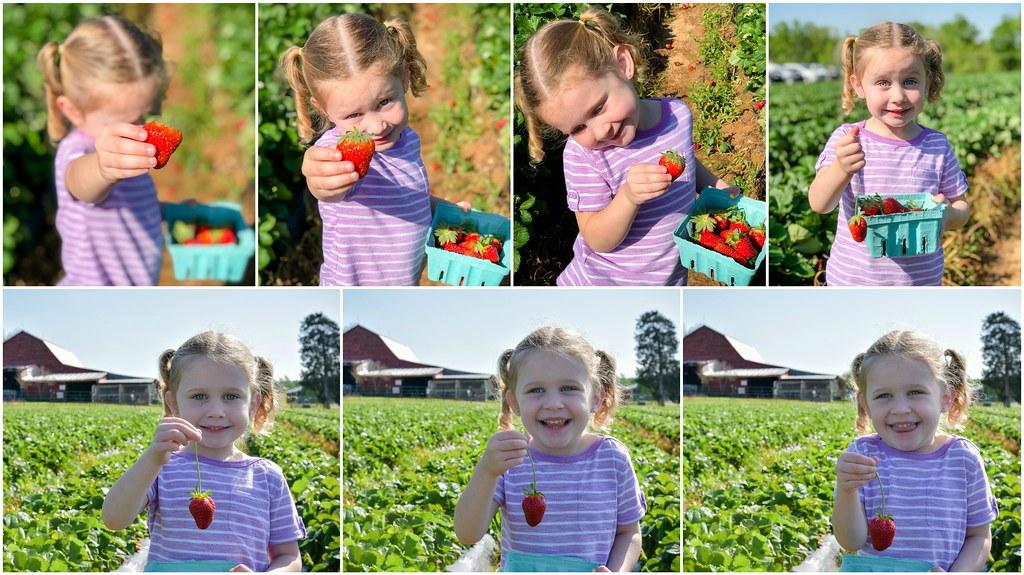 she loves strawberries