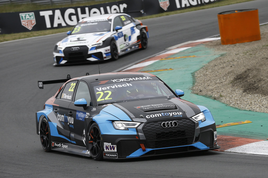22 VERVISCH Frederic, (bel), Audi RS3 LMS TCR team Comtoyou Racing, action during the 2018 FIA WTCR World Touring Car cup of Zandvoort, Netherlands from May 19 to 21 - Photo Jean Michel Le Meur / DPPI