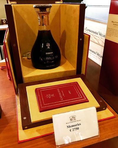 Ampolla de #vi #Porto #Oporto Carvalhas Memories @RealCompVelha del Segle XIX al preu de 2.750 € #Portugal