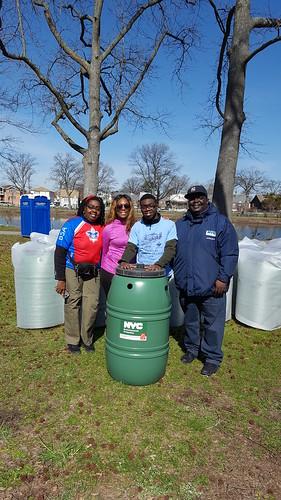 Rain Barrel Giveaway in Southeast Queens